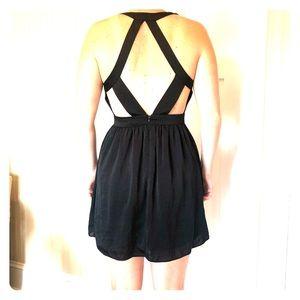 BCBGeneration Black Cut out dress